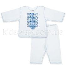 Комплект с вышивкой «Український», интерлок, для мальчика
