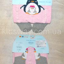 Колготы махровые для девочки, пингвин