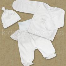 Комплект нарядный для девочки «Baby», белый