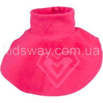 Горловина манишка детская, флис-полар (розовая)