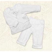 Комплект нарядный для мальчика «Мини Босс», белый