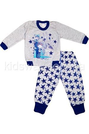 Пижама утепленная «Звёзды» Пижама утепленная «Звёзды»