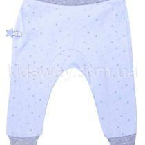 Ползунки-штанишки, голубые