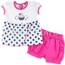 Комплект для девочки: футболка и шорты «Кексик»