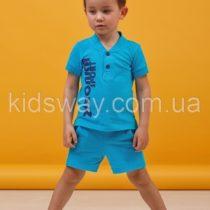 Комплект для мальчика: шорты и футболка-поло