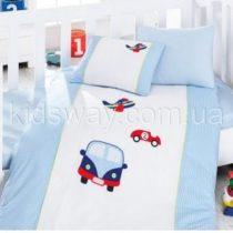 Постельное белье в кроватку ТМ Cotton Box «Машины»