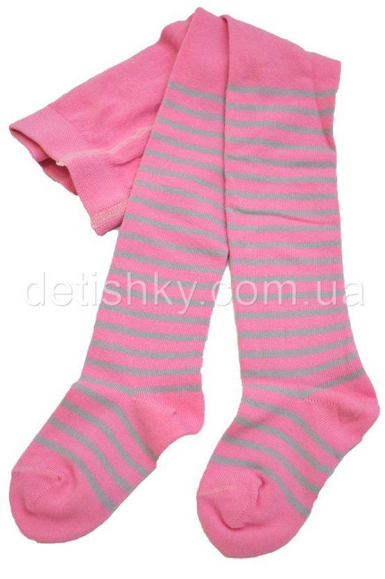 Колготки детские демисезонные р.74-80, розовый