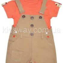 Комплект для мальчика: полукомбинезон и футболка