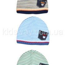 Вязанная шапка для мальчика (42-44; 44-46)