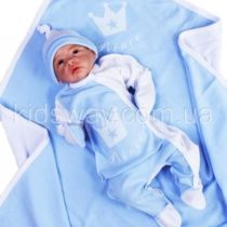 Комплект для новорожденного на выписку 4в1 «Prince»