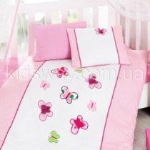 Постельное белье в кроватку ТМ Cotton Box «Бабочки»