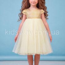 Платье для девочки «Фея», золотое