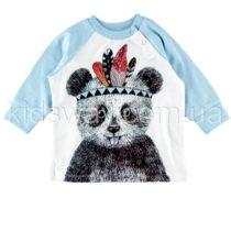 Реглан из интерлока для мальчика «Панда»