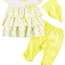 Комплект для девочки «Лимонные дольки»