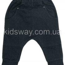 Штаны из джинсового трикотажа