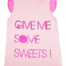 Маечка для девочки, розовая