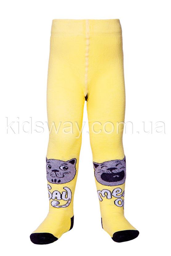 Колготки детские TIP-TOP «Коты-муркоты», светло-желтый