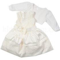Нарядное платье и болеро «Лилия», молочное