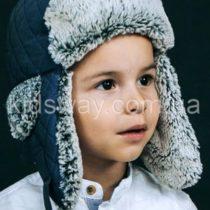 Зимняя шапка ушанка для мальчика «Матео»
