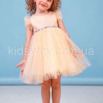 Платье для девочки «Аура», золото