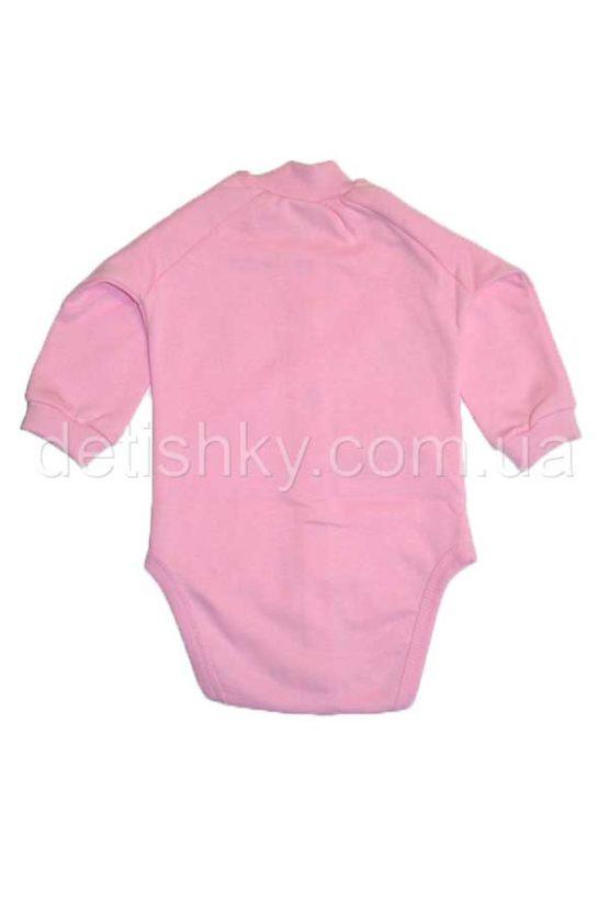 Боди «Котенок» розовый, футер