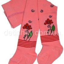 Колготки детские демисезонные р.62-68, розовые