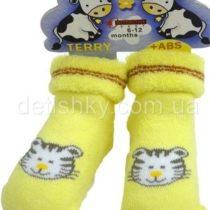 Махровые носки с антискользящим покрытием