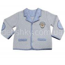 Пиджак для мальчика, капитон, гусиная лапка